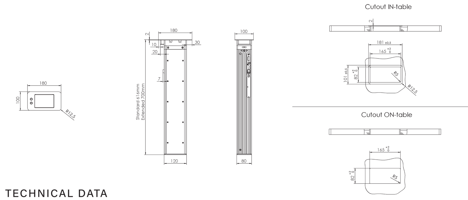 CONMIC technical drawing